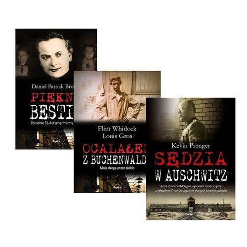 PAKIET Sędzia w Auschwitz + Ocalałem z Buchenwaldu + Piękna Bestia