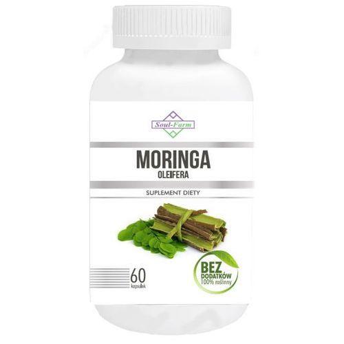 Soul farm (witaminy i ekstrakty) Moringa ekstrakt 400mg 60 kapsułek - soul farm