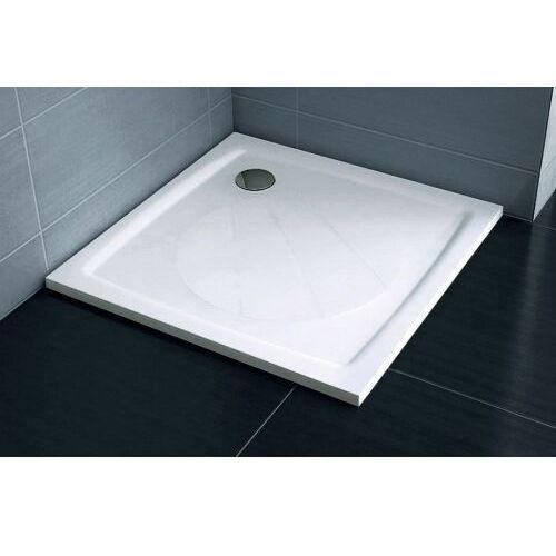 Ravak kwadratowy brodzik prysznicowy Perseus Pro-100 biały XA03AA01010 (8595096850902)