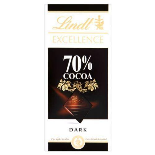Czekolada 70% cacao 100g marki Lindt