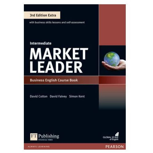 Market Leader 3Ed Extra Intermediate. Podręcznik + DVD-ROM + MyEnglishLab, Pearson