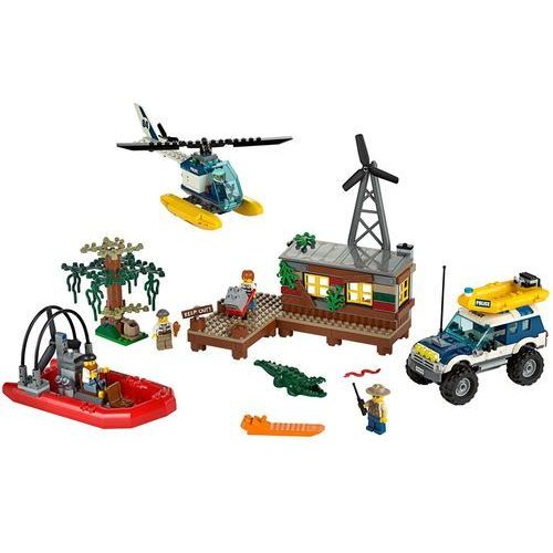 Lego City KRYJÓWKA RABUSIÓW 60068 z kategorii: klocki dla dzieci