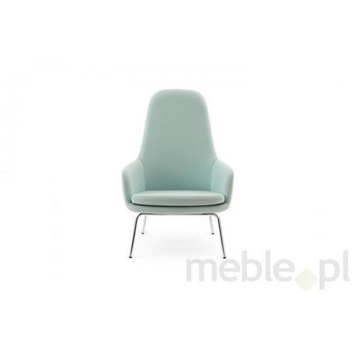 Fotel Era Chromowy z Wysokim Oparciem gabriel-fame Normann Copenhagen 602861