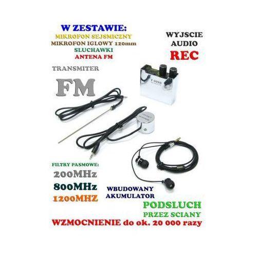 Profesjonalny Podsłuch Sejsmiczny Przez Scianę, Sufit, Drzwi, Okno itd., Spy Electronics LTD.