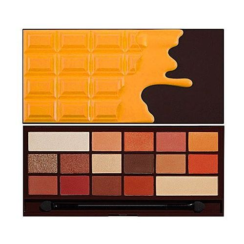 Makeup revolution chocolate orange, czekoladowa paletka cieni 22g (5057566012058)