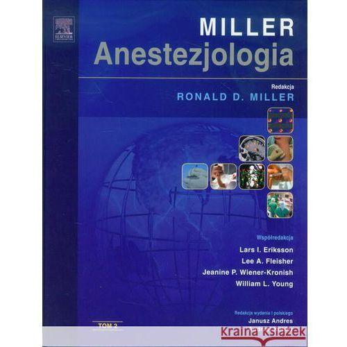 Anestezjologia Millera Tom 2 (9788376096094)