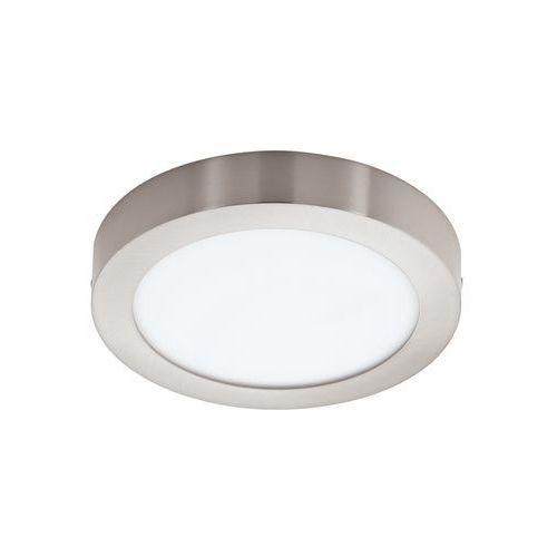 Plafon LAMPA sufitowa FUEVA 1 94525 Eglo natynkowa OPRAWA LED 16W okrągła nikiel satynowany (9002759945251)