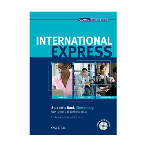 International Express Elementary SB CD grat OXFORD podręcznik (9780194568005)