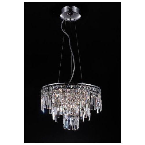 Italux Lampa wisząca lavenda md92915-10a z kryształami zwis 10x20w g4 chrom (5900644340980)