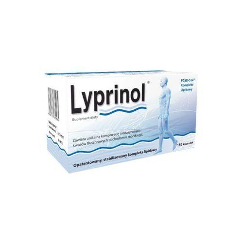 Lyprinol kaps.elast.(żelatynowe) 0,24 g 180 kaps. (4260168660058)