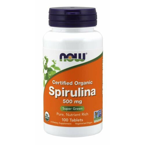 spirulina 500 mg 200 tab marki Now foods