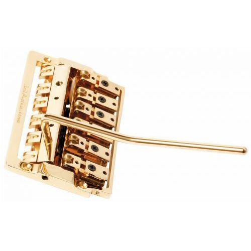 Kahler 2148r-xw6 - 6-string bass tremolo, extra wide, rearward saddles - złoty mostek do gitary
