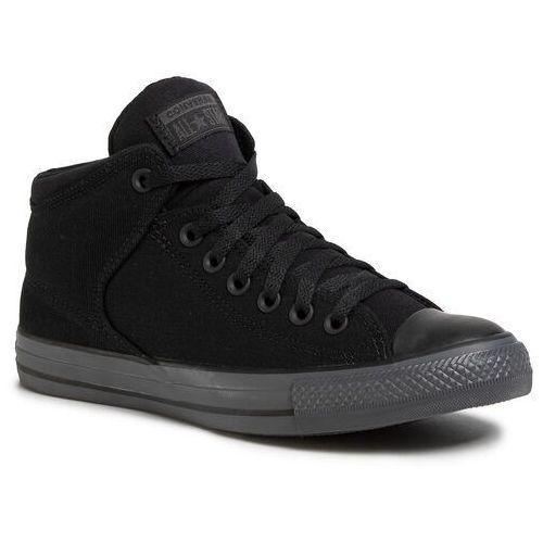 Trampki - ctas high street mid 167189c black/black/almost black, Converse, 40-42.5