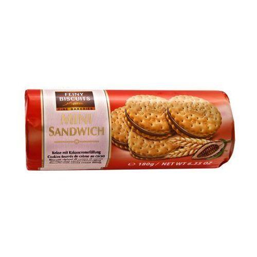 Feiny Biscuits Wafelki z kremem kakaowym 180g, 9002859069024