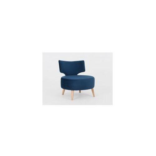 Customform Fotel z dużym siedziskiem, tapicerowany flippin - różne kolory