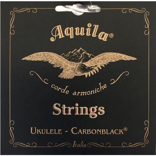 Aquila Carbonblack struny do ukulele GCEA Tenor, low-G