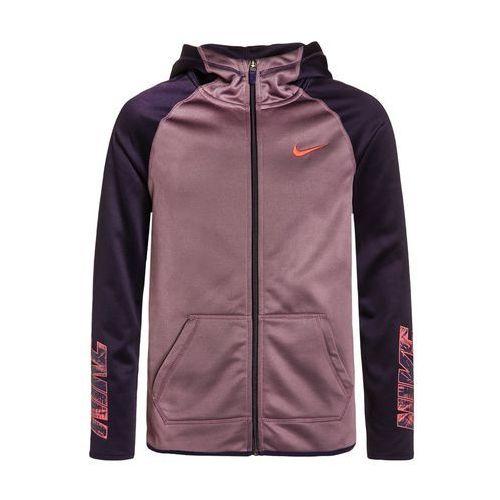 Nike Performance THERMA Kurtka sportowa purple shade/purple dynasty/ember glow