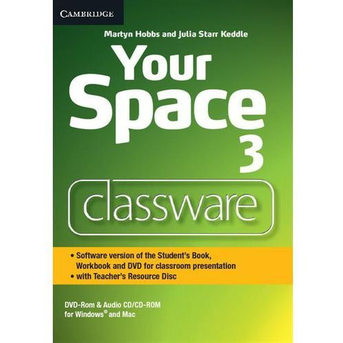 Your Space Level 3 Classware DVD-ROM with Teacher's Resource Disc (9781107660748)