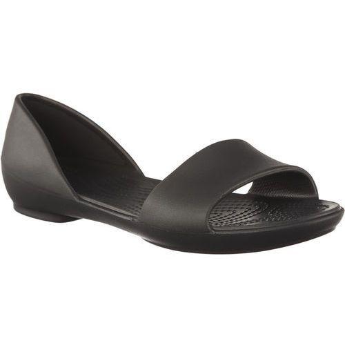 Crocs Sandały lina dorsay black black