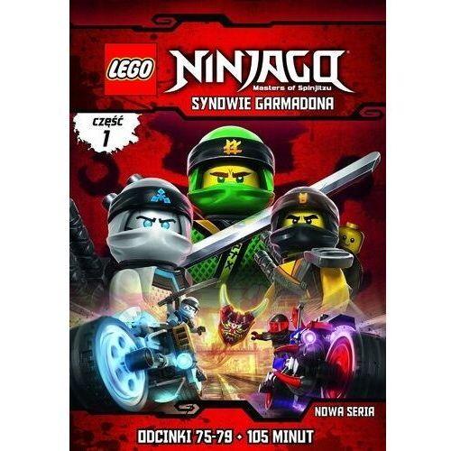 Lego ninjago: synowie garmadona, część 1 (odcinki 75-79) (płyta dvd) marki Michael helmuth hansen