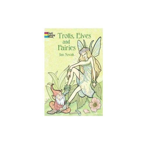 Trolls, Elves and Fairies Coloring Book, Sovak, Jan
