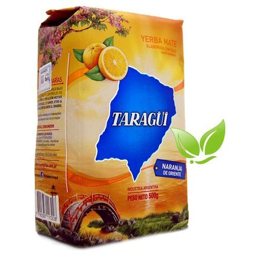 Yerba mate taragui, argentyna Yerba mate taragui naranja oriente pomarańczowa 500g