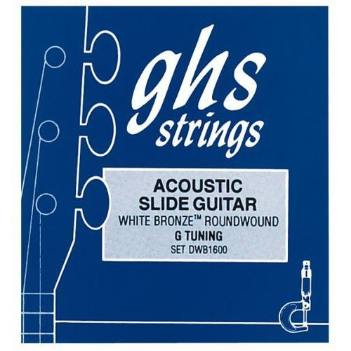 GHS Professional - Resonator String Set, White Bronze,.016-.056