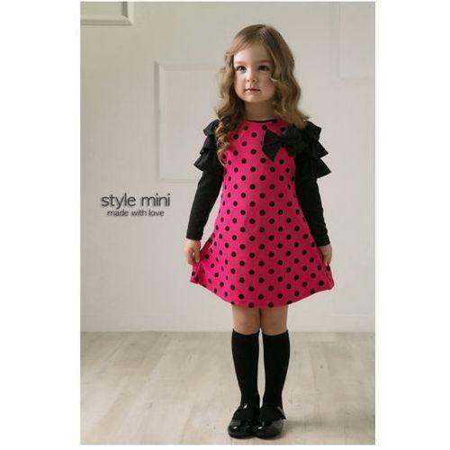 Sukienka w Grochy (sukienka dziecięca)