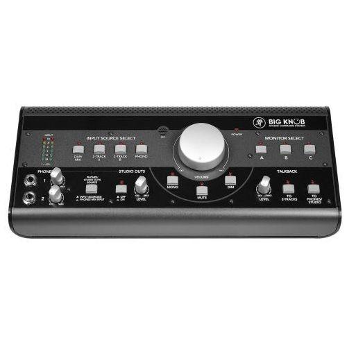 big knob kontroler monitorów studyjnych marki Mackie