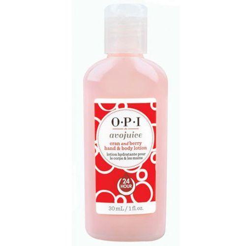 Opi avojuice cran & berry juice hand & body lotion balsam do dłoni i ciała - żurawina (28 ml)