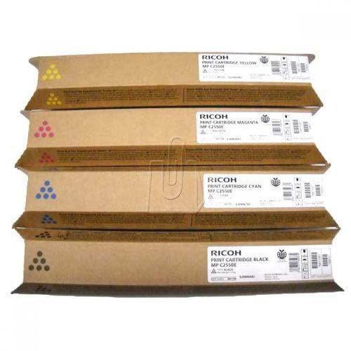 Ricoh oryginalny toner 841197, 842060, 841281, cyan, 5500s, Ricoh MPC2550, MPC2030, MPC2050, MPC2530, 841197