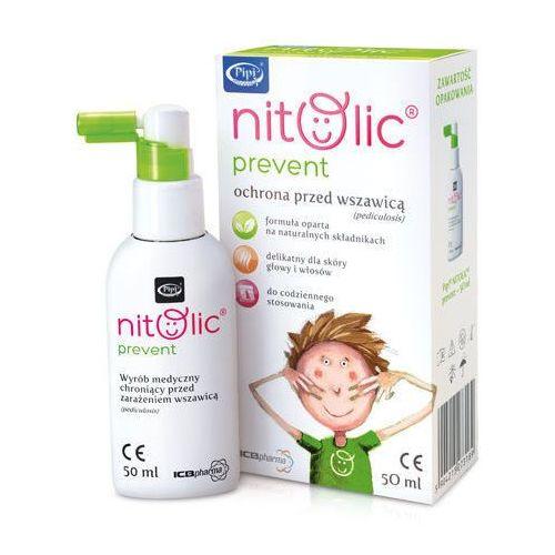 Icb pharma Pipi nitolic prevent spray przeciw wszawicy 50ml