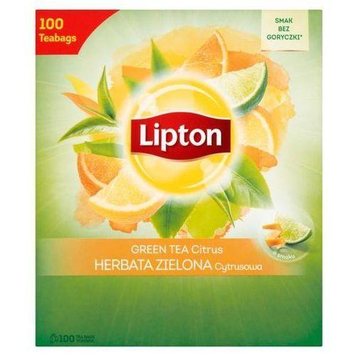 Herbata eksp. green tea op.100 - cytrusowa marki Lipton