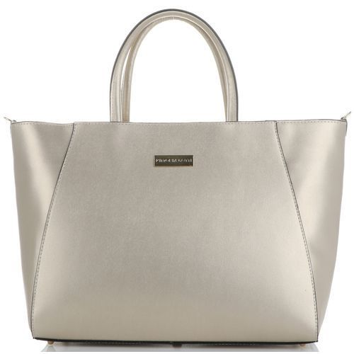 5889cf7b1ec49 Vittoria gotti Elegancka pojemna torebka skórzana duży kufer w rozmiarze xxl  włoskiej marki złoty (kolory) 319