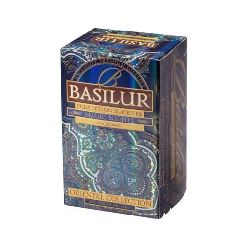 Basilur 70416 20x2g magic nights herbata czarna kopertowana