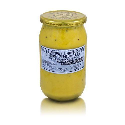 Miód wielokwiatowy z pyłkiem i propolisem forte 1050 g