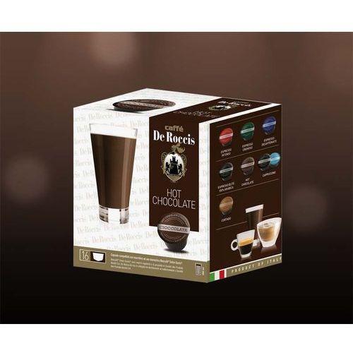 Hot chocolate de roccis kapsułki do dolce gusto – 16 kapsułek marki Nespresso kapsułki