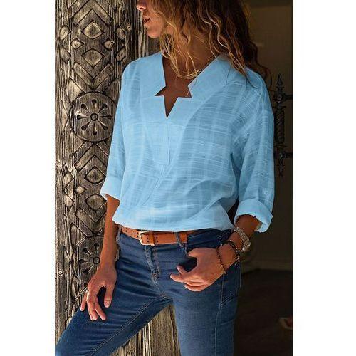 Damska koszula DELISIA SKY, kolor niebieski