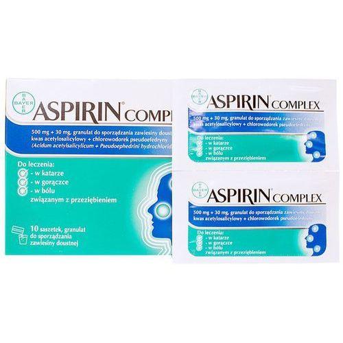 Aspirin Complex granulki 10 saszetek (granulat)