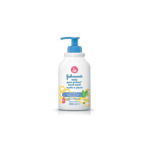 J&j baby pure protect mydło w płynie 300ml marki Johnson&johnson