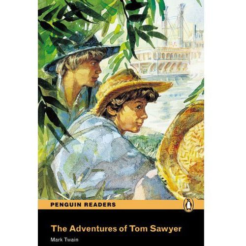 The Adventures of Tom Sawyer plus Audio CD, oprawa miękka