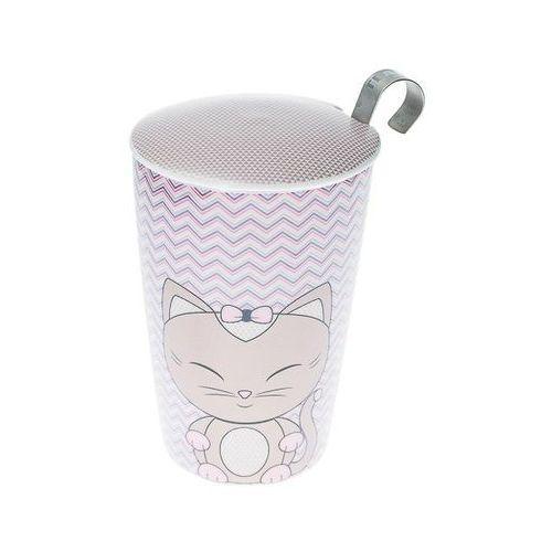 kubek z zaparzaczem teaeve miss mieuw sandy 350 ml marki Eigenart