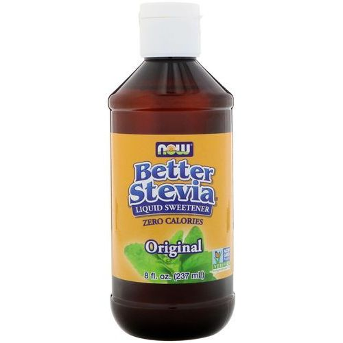 Now foods better stevia liquid extract organic 237ml wegańska