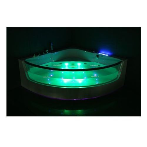 Wanna CF-3131 narożna 150cmx150cmx59cm chromoterapia - produkt z kategorii- Wanny z hydromasażem