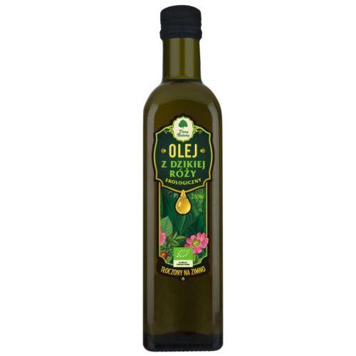 Dary natury - test Olej z dzikiej róży bio 250 ml - dary natury (5902581616173)