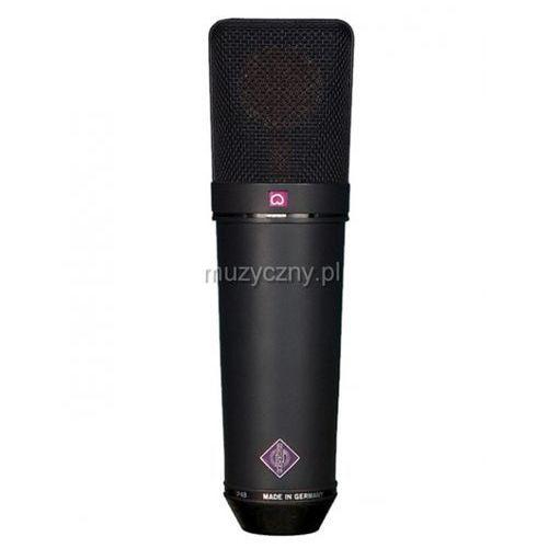 Neumann u89 i mikrofon wielkomembranowy, kolor czarny