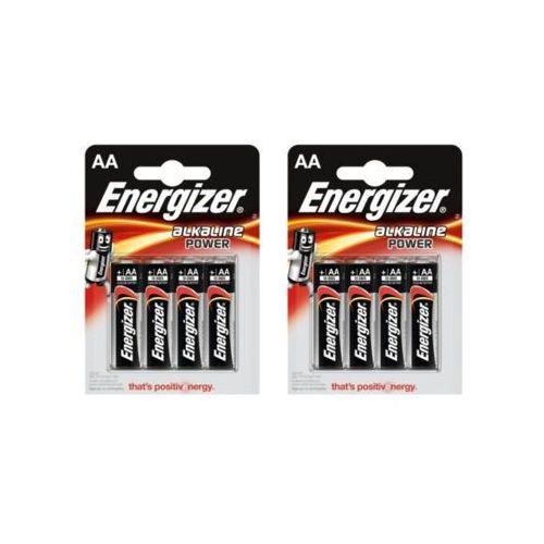 Zestaw ENERGIZER 2x ENERGIZER 4szt Baterie Alkaline power (AA)