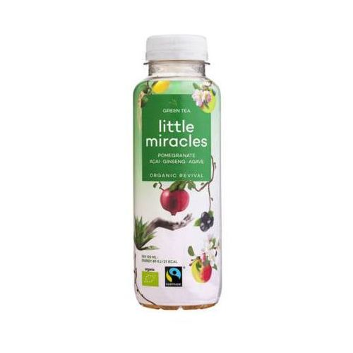 Little miracles 330ml zielona herbata napój energetyzujący bio marki Bio planet