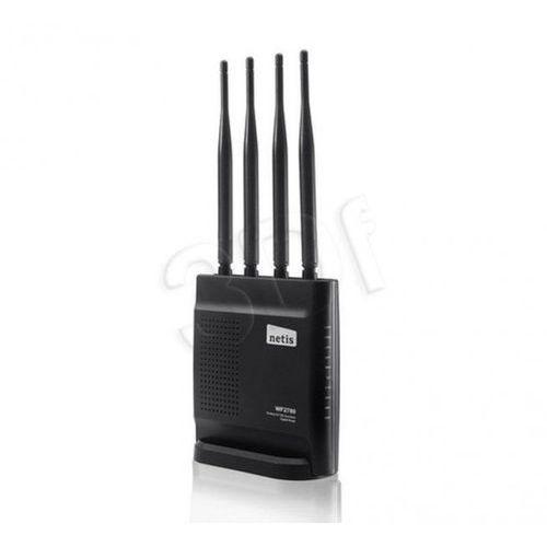 NETIS ROUTER WIFI AC/1200 DUAL BAND DSL+1GB LAN 4X ANTENA WF2780 z kategorii Routery i modemy ADSL