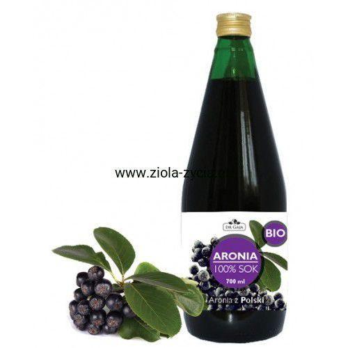 100% sok z Aronii BIO - Dr Gaja - Tłoczony na zimno i nieklarowany